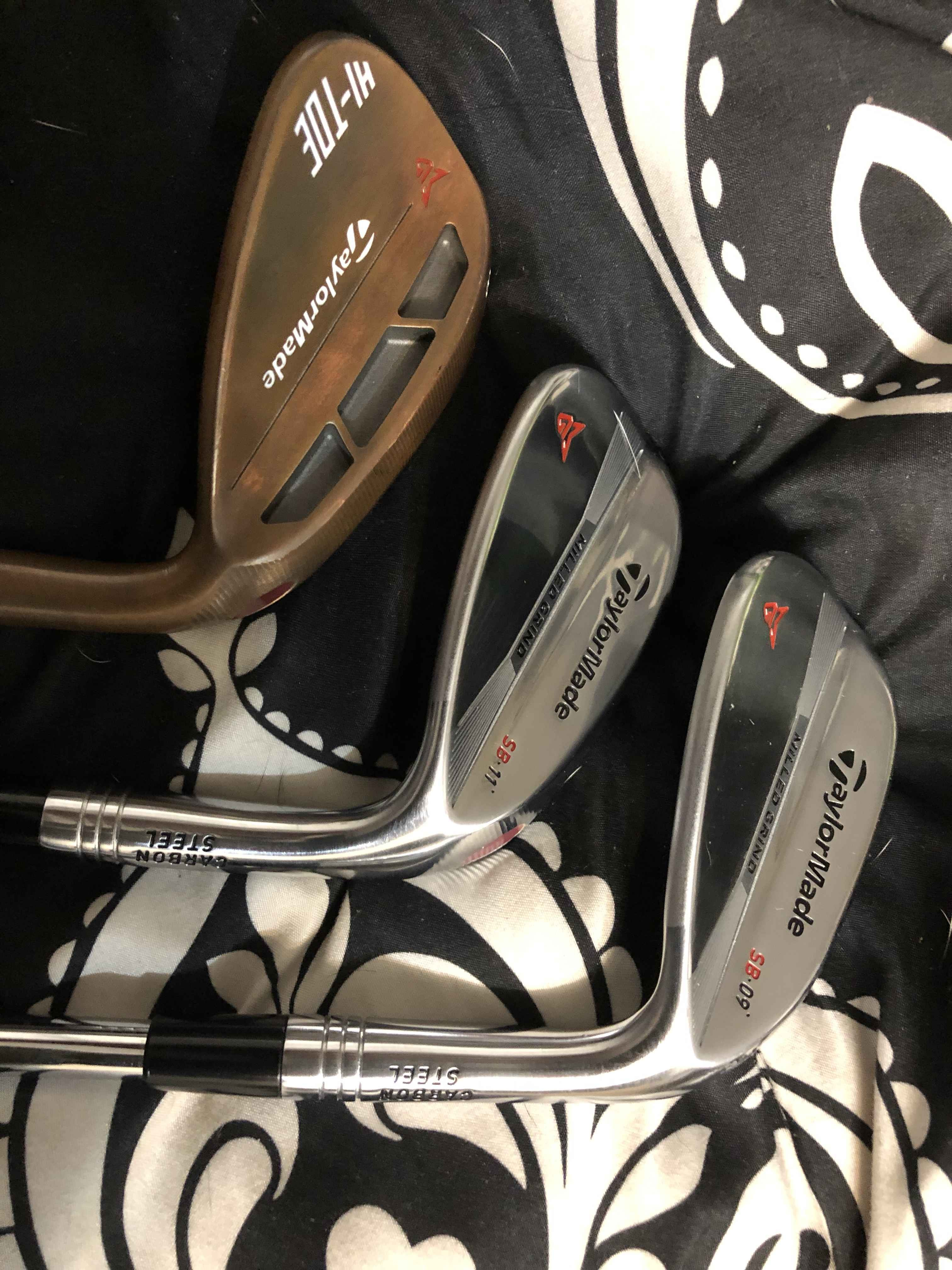 Taylormade milled grind wedge set
